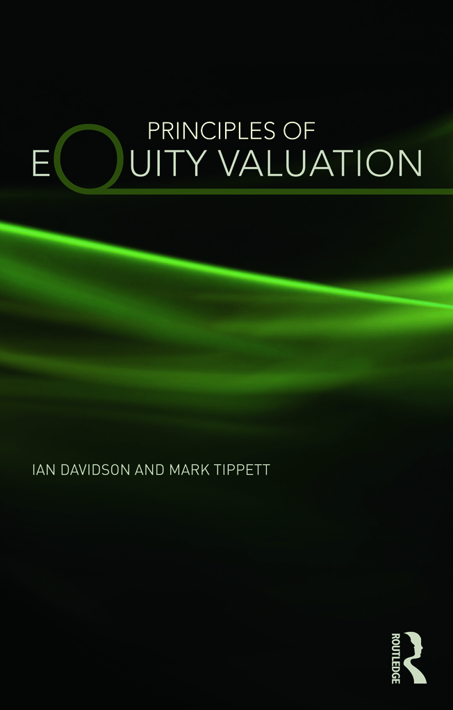 Principles of Equity Valuation (Paperback) book cover
