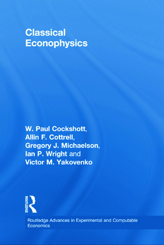 Classical Econophysics (Paperback) book cover