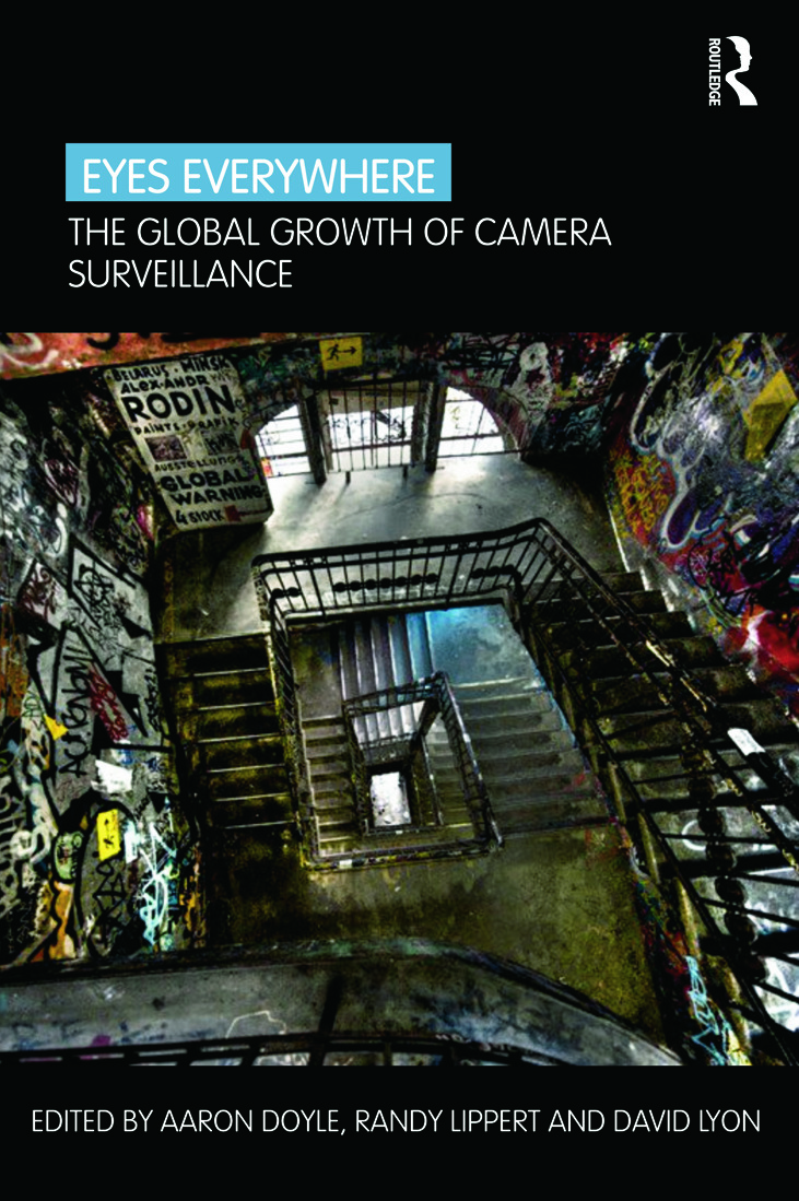 Eyes Everywhere: The Global Growth of Camera Surveillance (Paperback) book cover