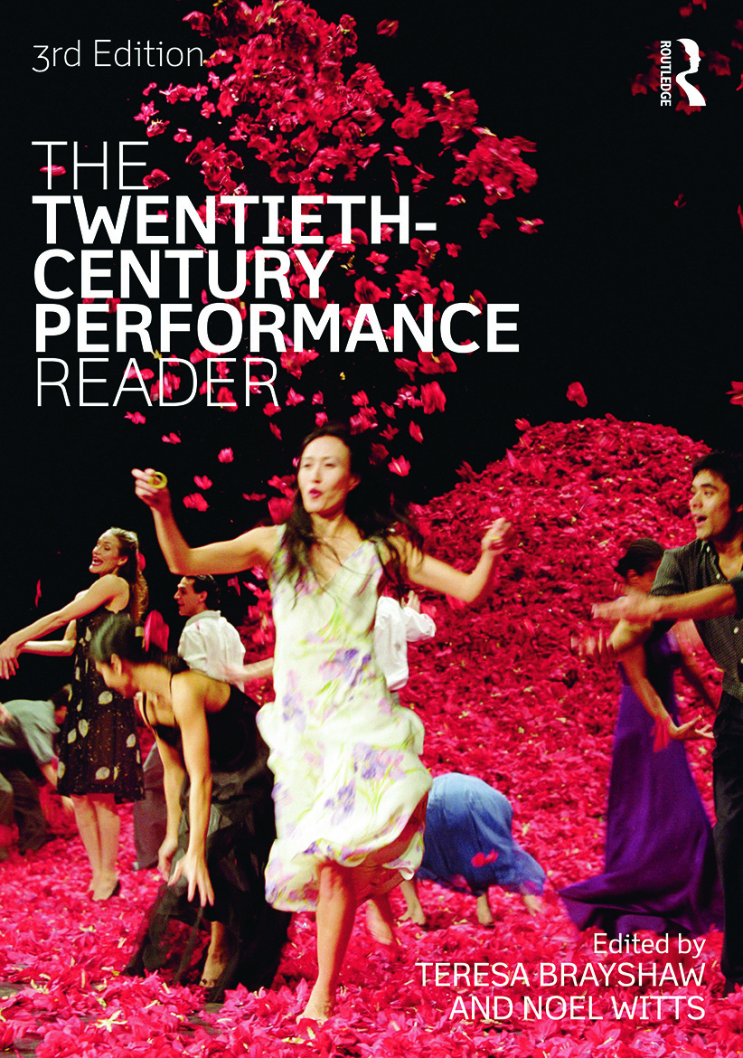 The Twentieth Century Performance Reader: 3rd Edition (Paperback) book cover
