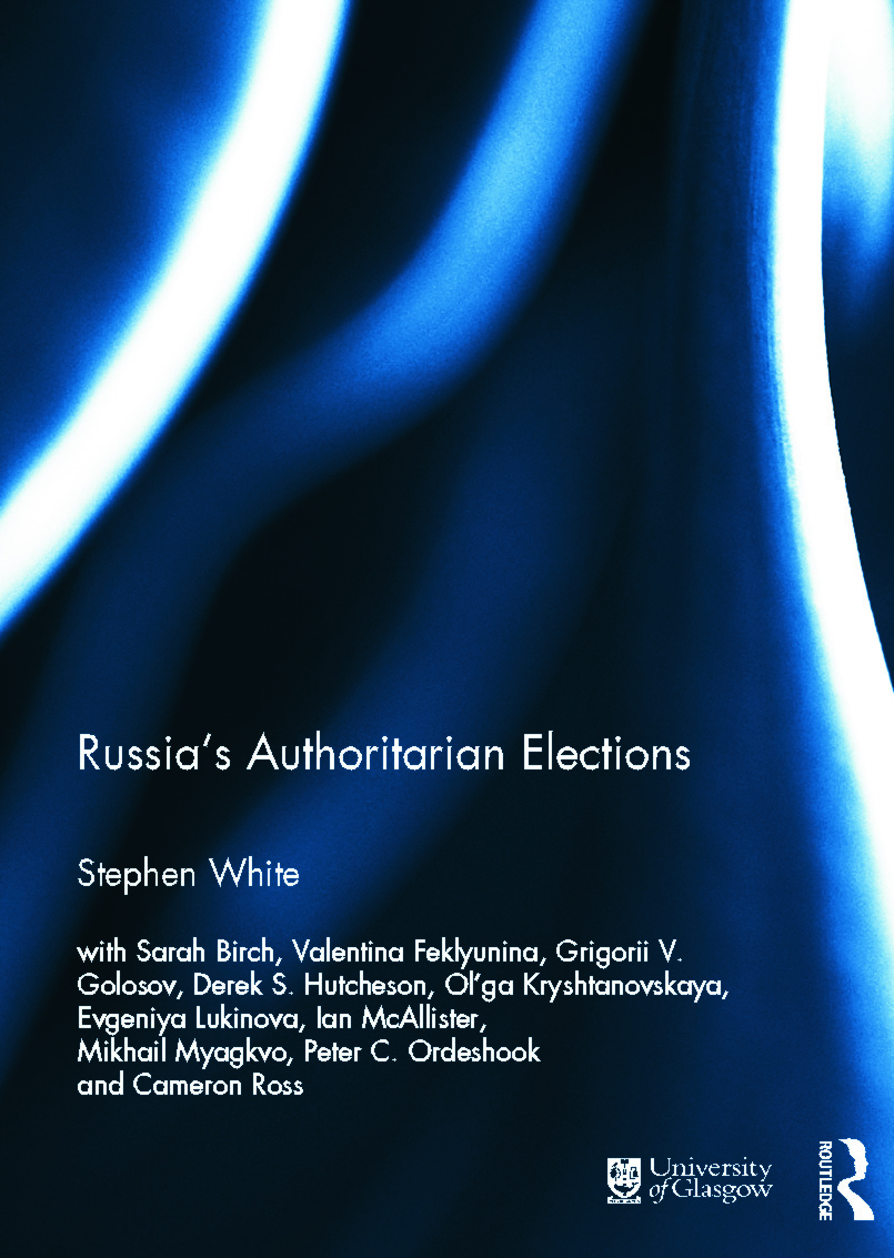Russia's Authoritarian Elections book cover