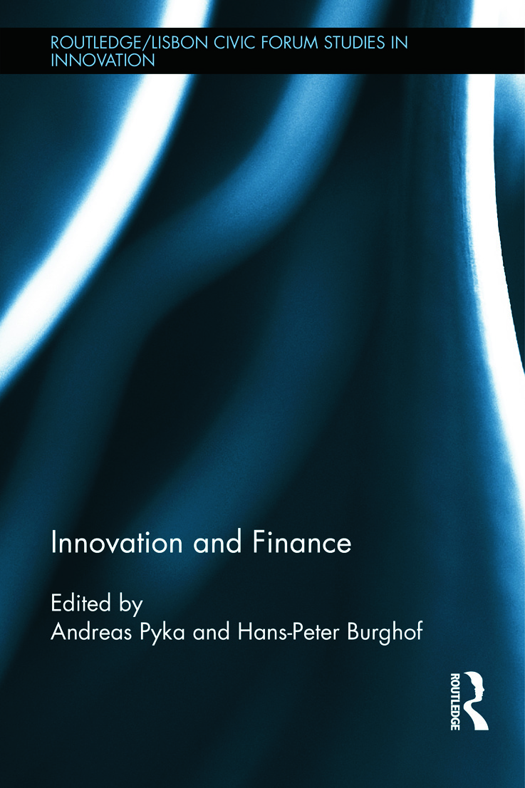 Innovation and Finance (Hardback) book cover