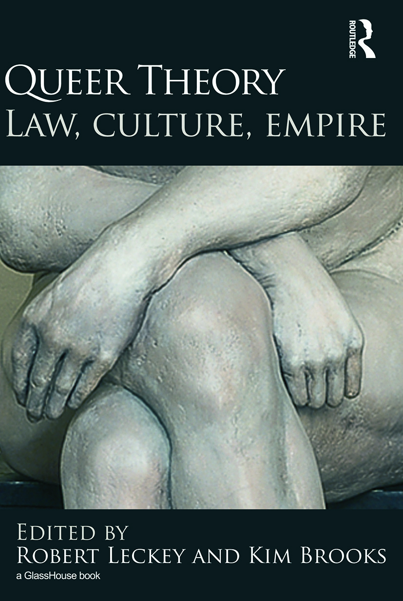 Queer Theory: Law, Culture, Empire: 1st Edition (Paperback) book cover