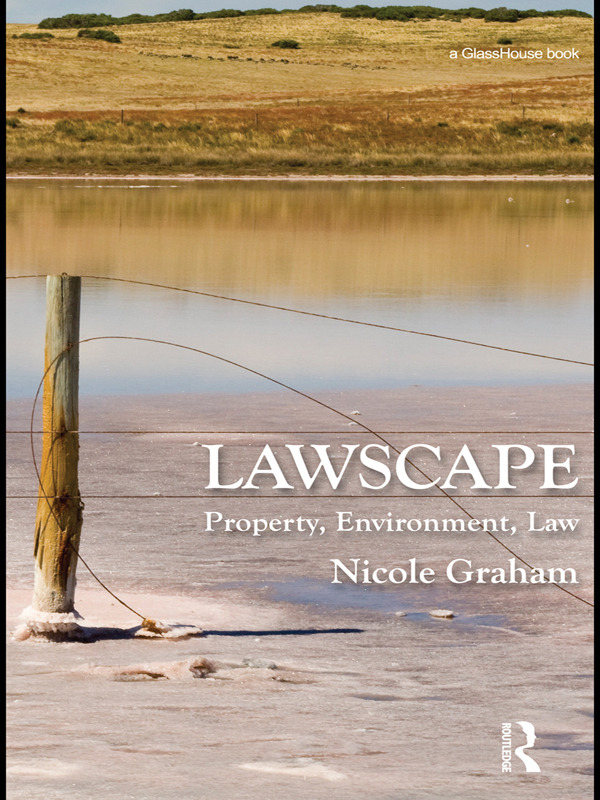 Lawscape: Property, Environment, Law book cover