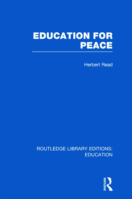 Education for Peace (RLE Edu K) (Hardback) book cover