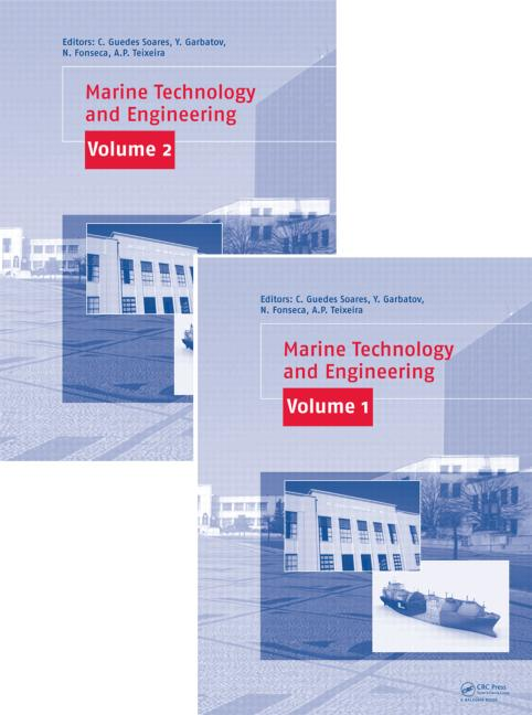 Marine Technology and Engineering, Two Volume Set: CENTEC Anniversary Book, 1st Edition (Pack - Book and CD) book cover