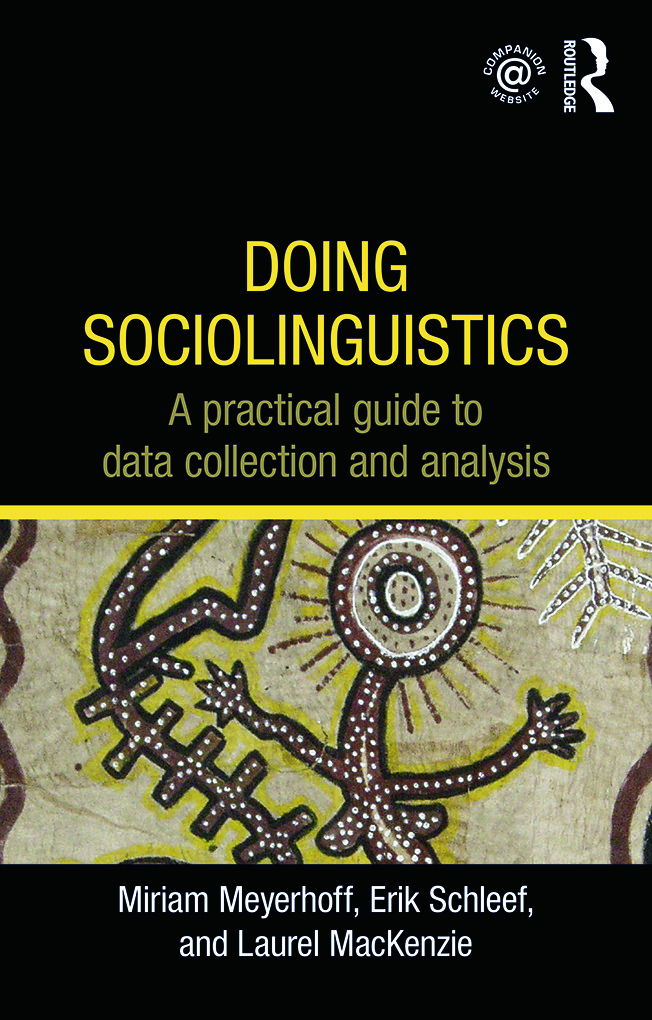 Doing Sociolinguistics: A practical guide to data collection and analysis (Paperback) book cover