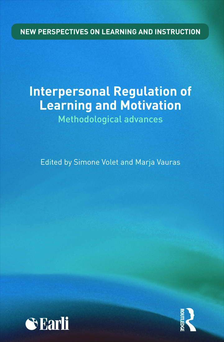 Interpersonal Regulation of Learning and Motivation: Methodological Advances book cover