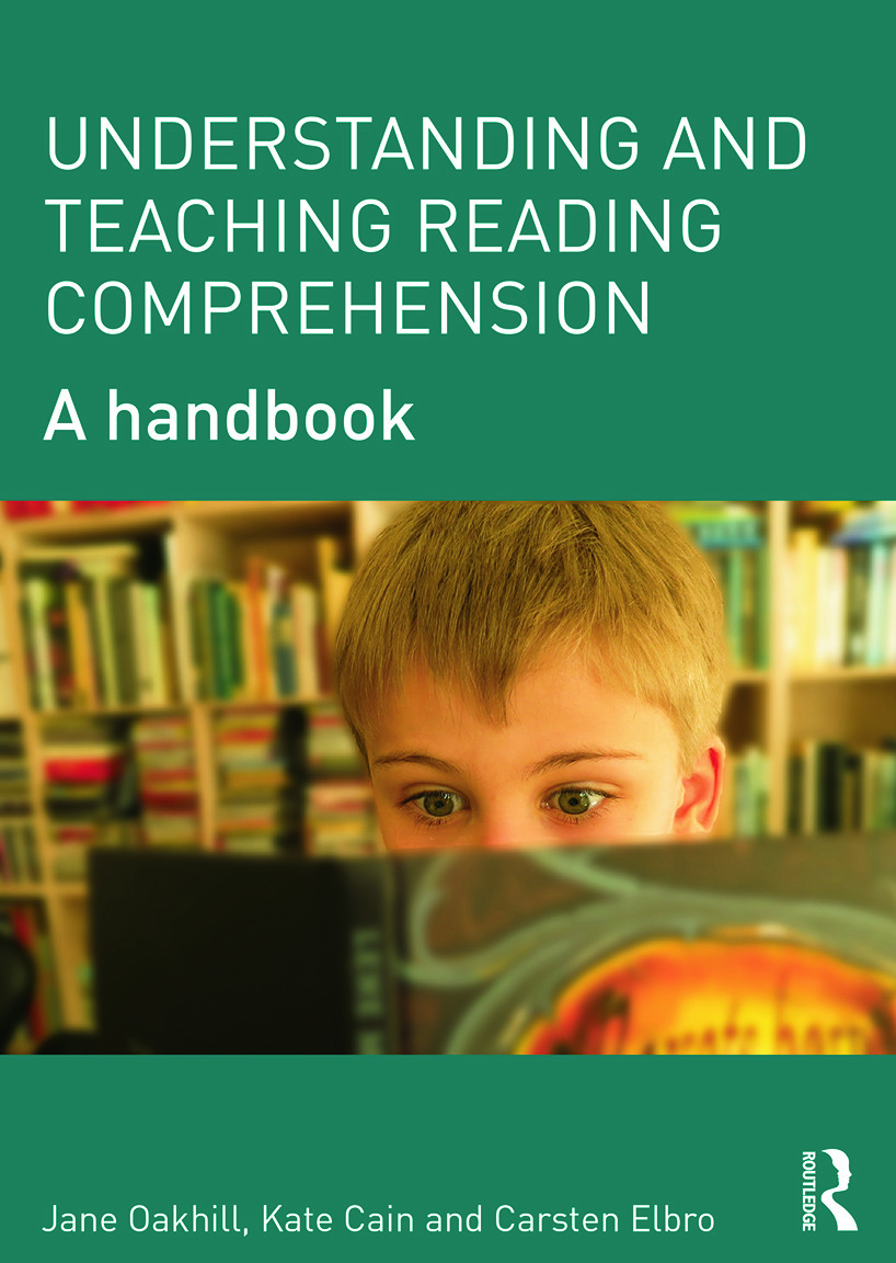 Understanding and Teaching Reading Comprehension: A handbook (Paperback) book cover