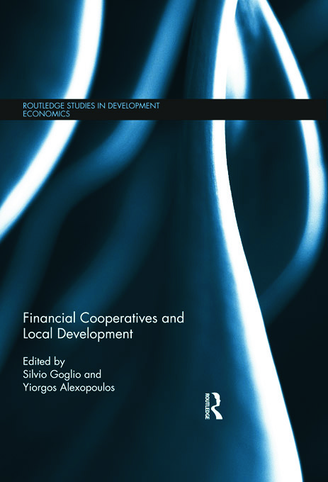 Financial Cooperatives and Local Development (Hardback) book cover