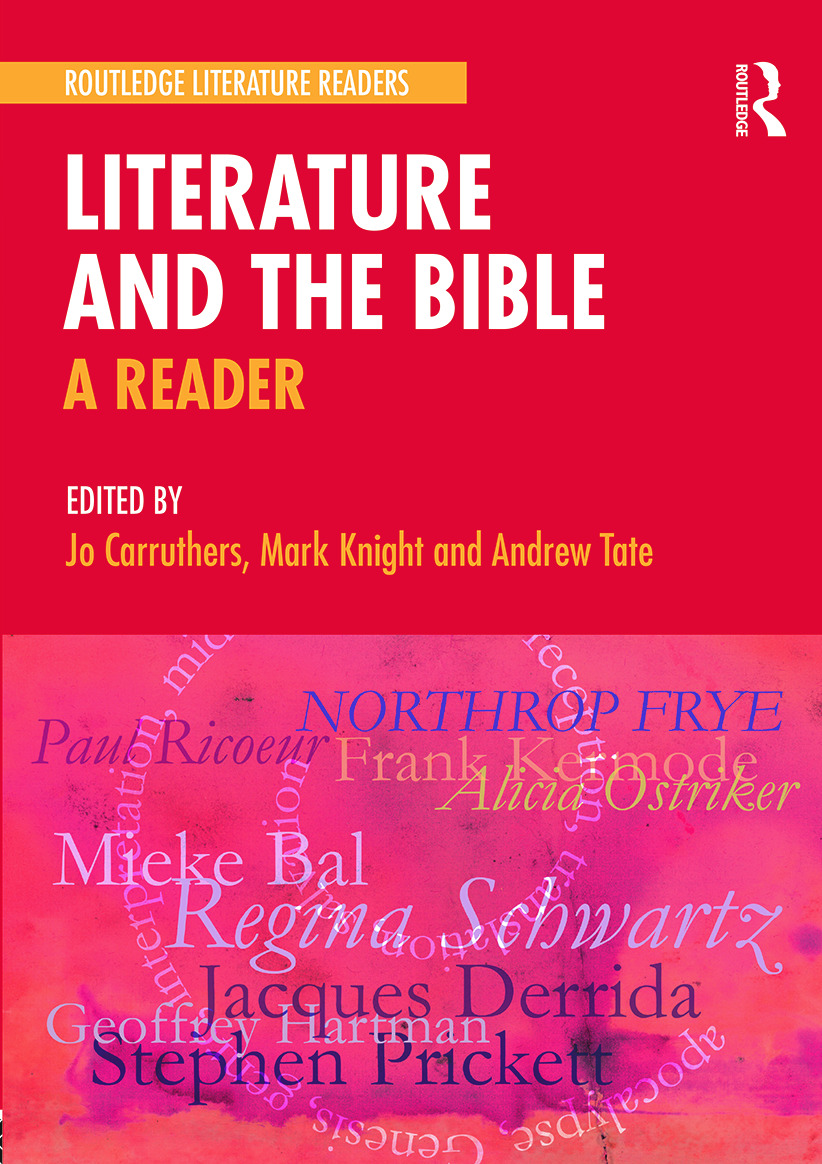 Literature and the Bible: A Reader (Paperback) book cover