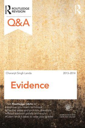 Q&A Evidence 2013-2014