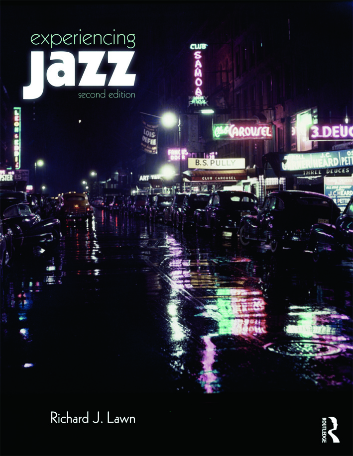 Experiencing Jazz: Book Only, 2nd Edition (Paperback) book cover