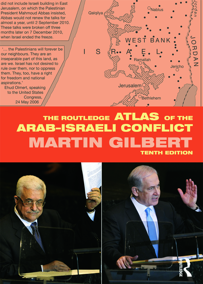 The Routledge Atlas of the Arab-Israeli Conflict: 10th Edition (Paperback) book cover