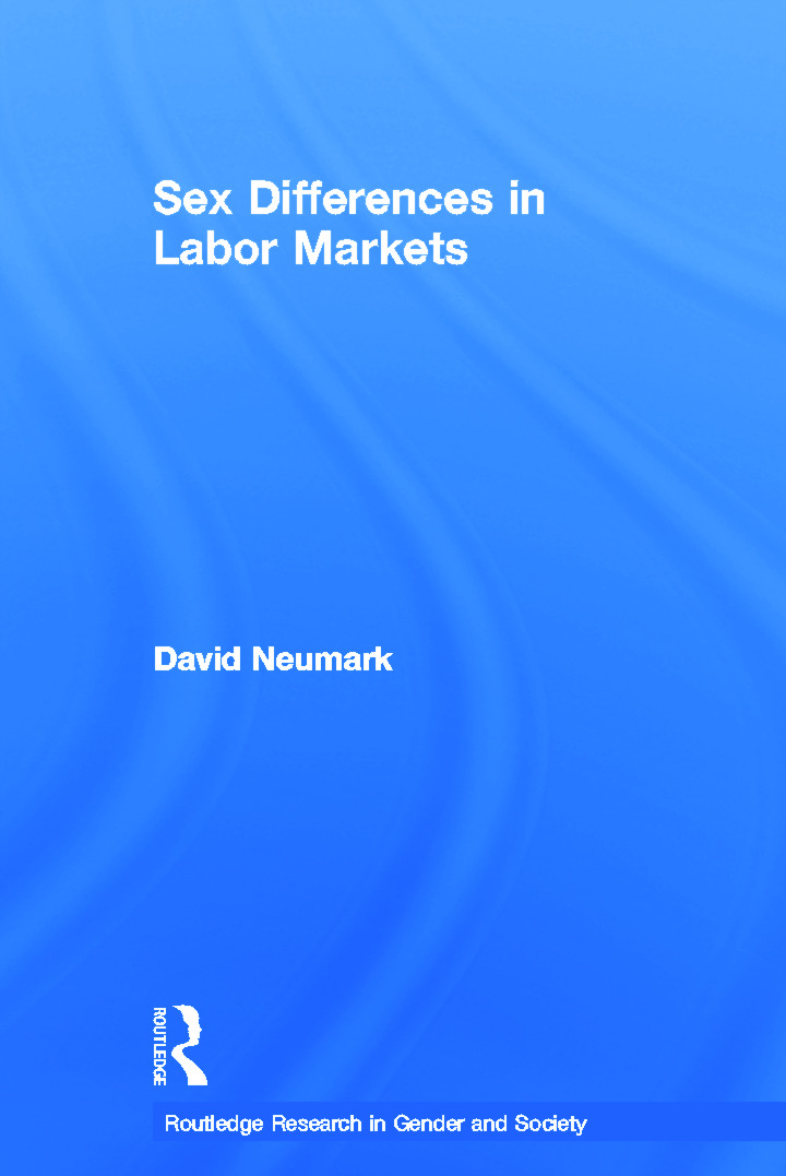 Sex Differences in Labor Markets book cover