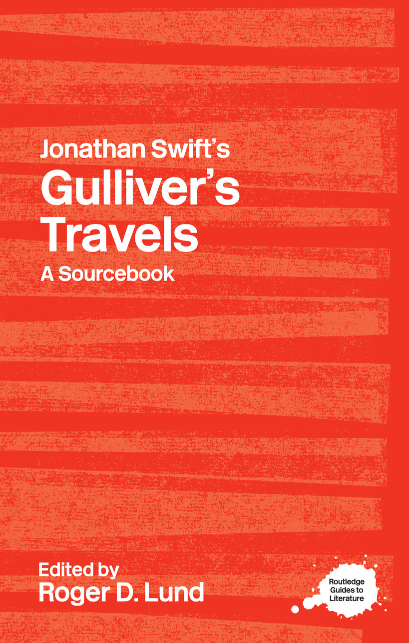 Jonathan Swift's Gulliver's Travels: A Routledge Study Guide book cover