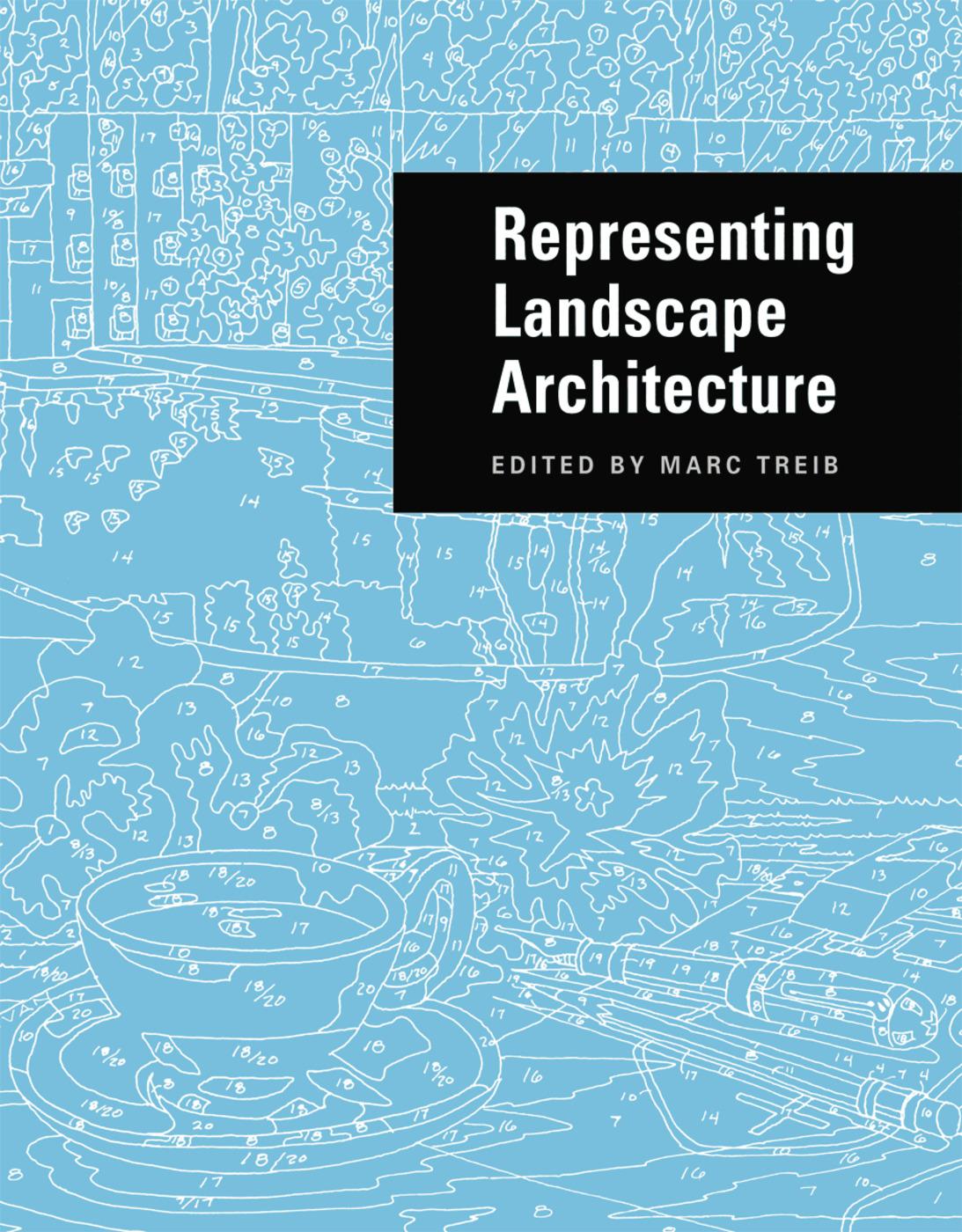 Representing Landscape Architecture (Paperback) book cover