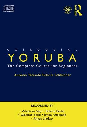 Colloquial Yoruba: The Complete Course for Beginners book cover