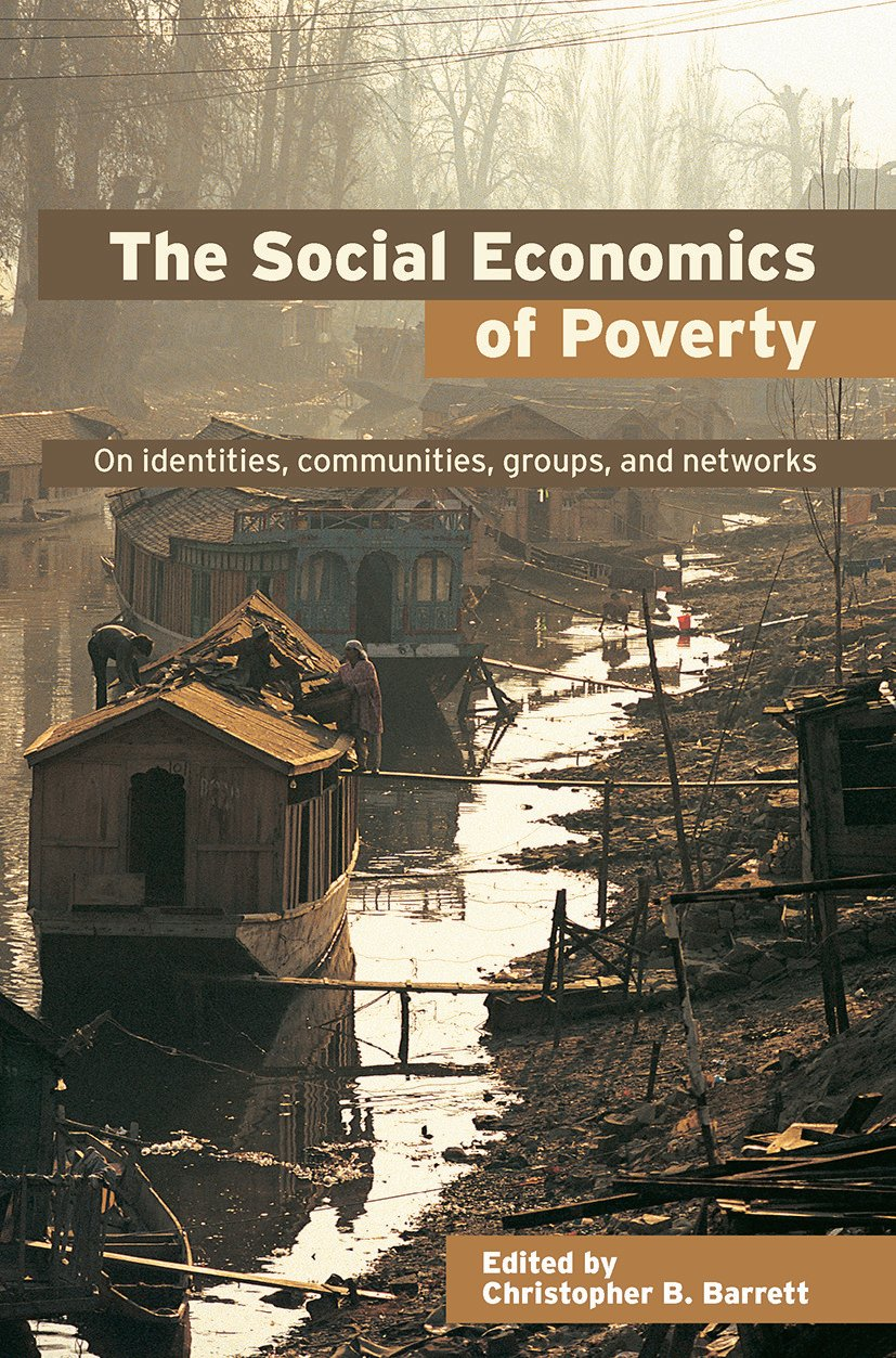The Social Economics of Poverty: 1st Edition (Hardback) book cover