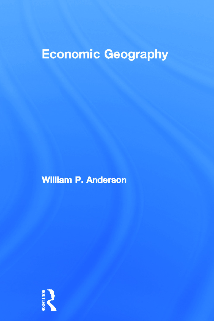 Economic Geography: 1st Edition (Hardback) book cover