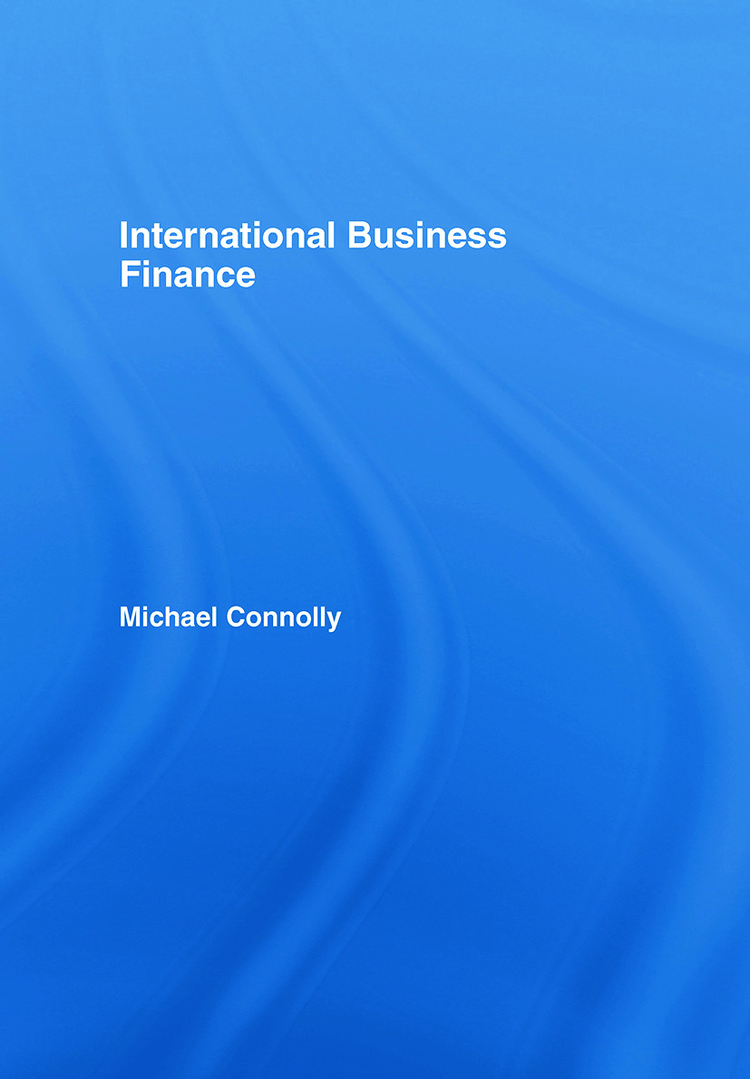 International Business Finance: 1st Edition (Hardback) book cover