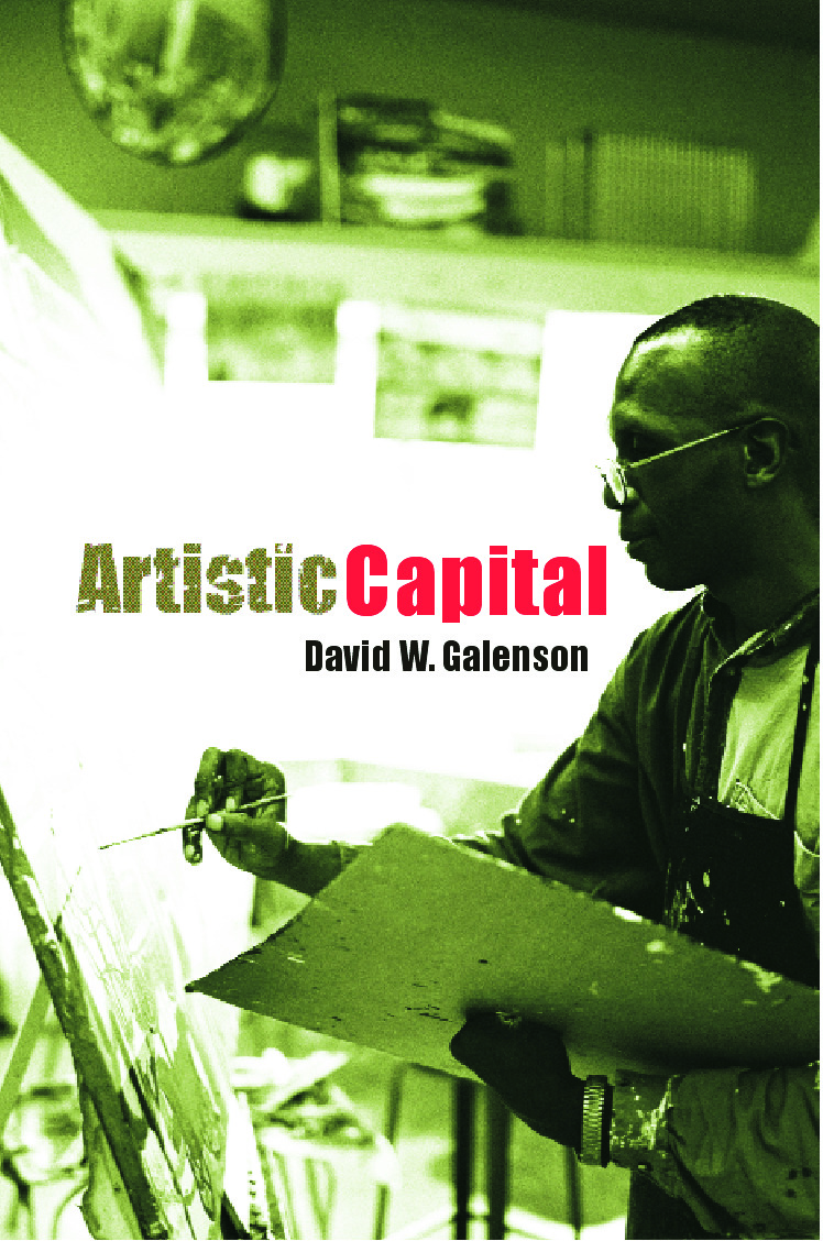 Artistic Capital: 1st Edition (Paperback) book cover