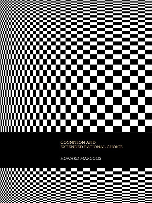 Cognition and Extended Rational Choice (Paperback) book cover