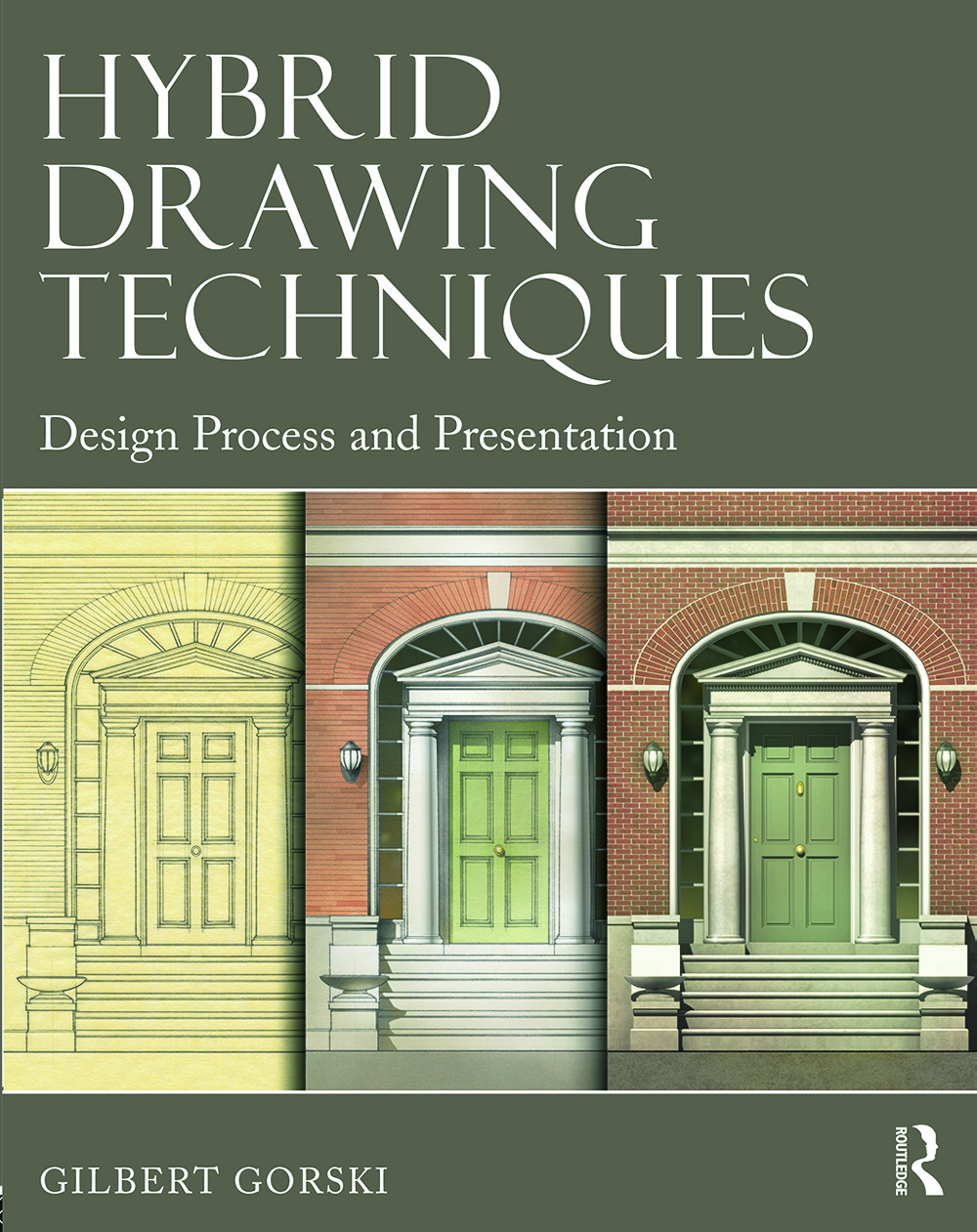 Hybrid Drawing Techniques: Design Process and Presentation book cover