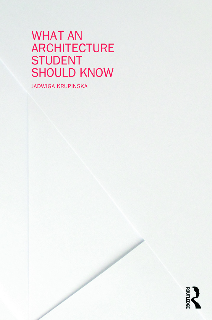 What an Architecture Student Should Know book cover