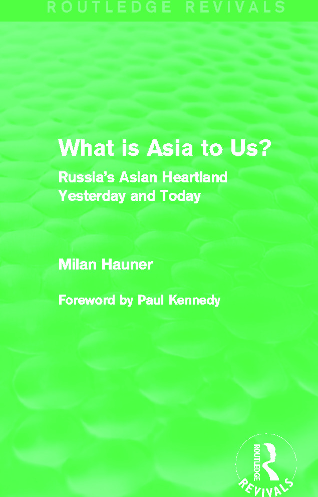 What is Asia to Us? (Routledge Revivals)