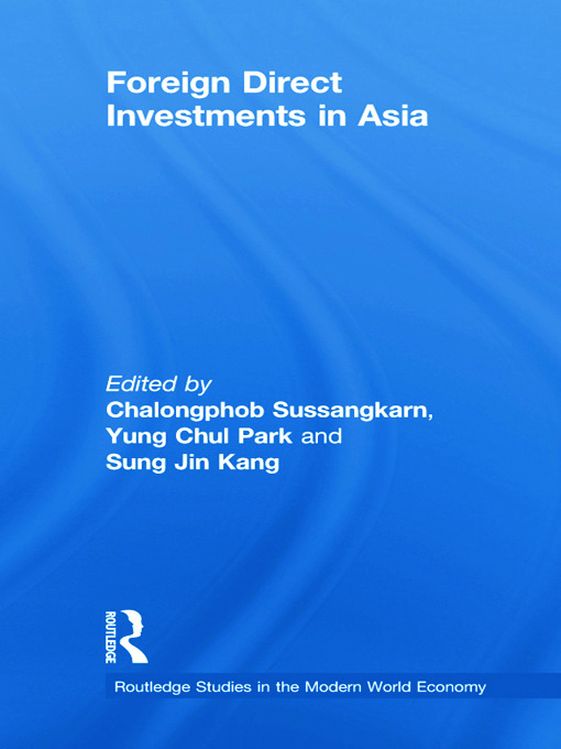 Foreign Direct Investments in Asia