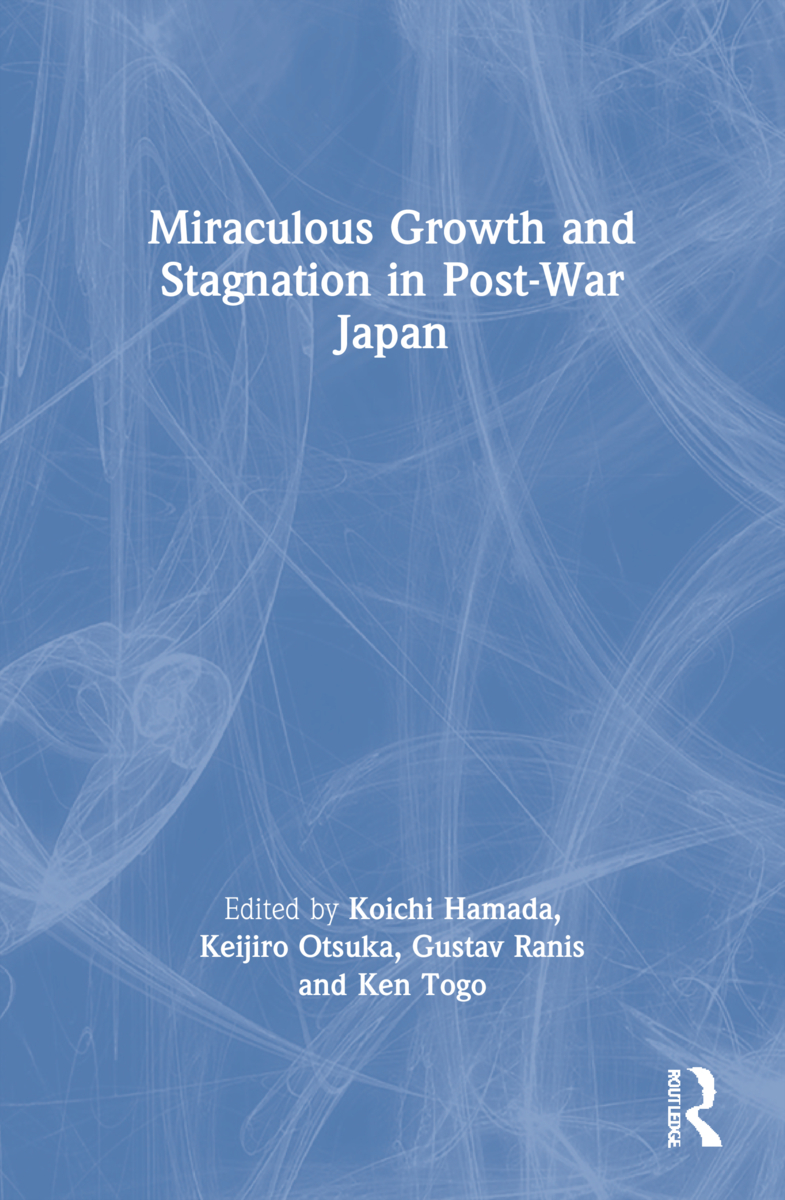 Miraculous Growth and Stagnation in Post-War Japan: 1st Edition (Paperback) book cover