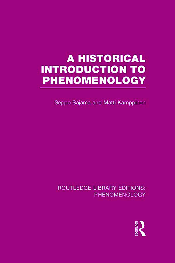A Historical Introduction to Phenomenology book cover