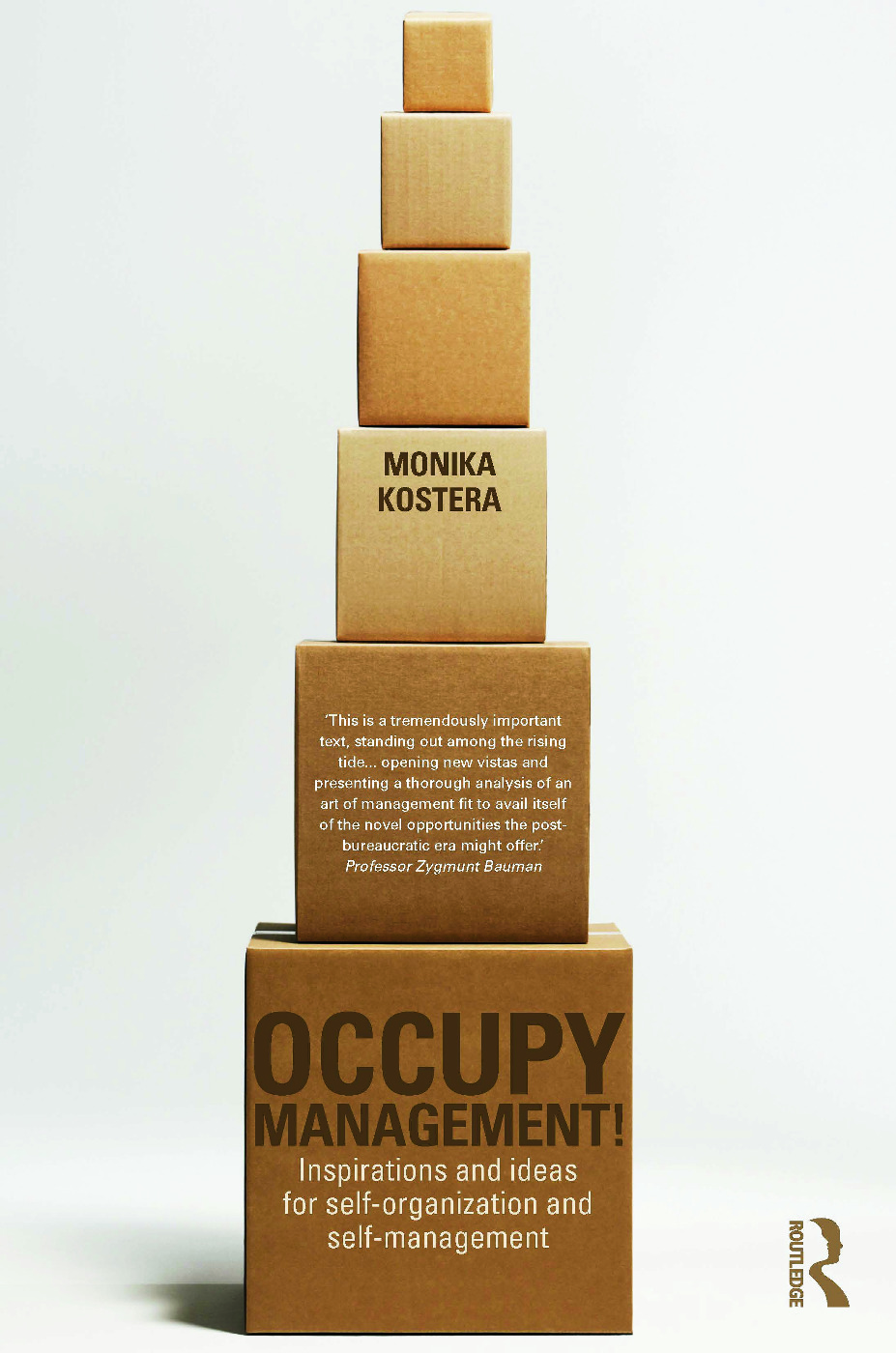 Occupy Management: Inspirations and Ideas for Self-Organization and Self-Management (Hardback) book cover