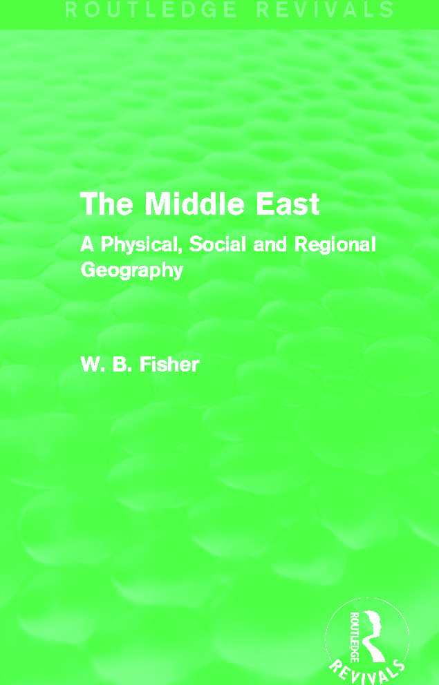 The Middle East (Routledge Revivals)