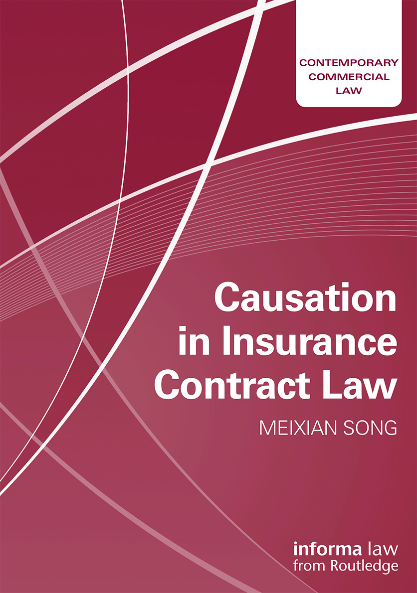 Causation in Insurance Contract Law book cover