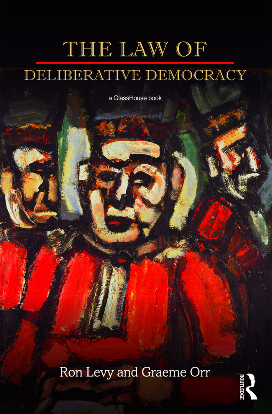 The Law of Deliberative Democracy book cover