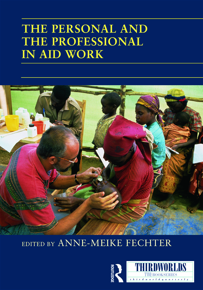 The Personal and the Professional in Aid Work book cover