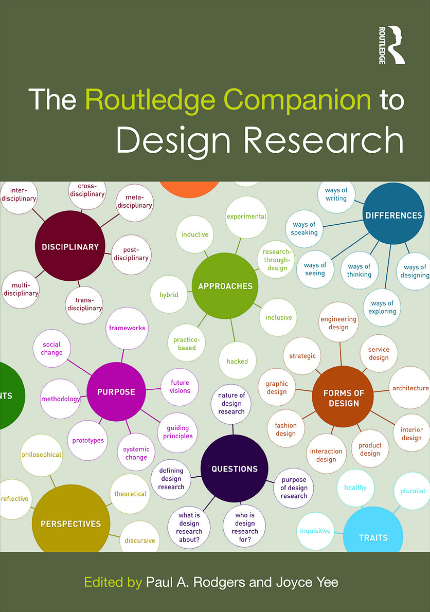 The Routledge Companion to Design Research book cover