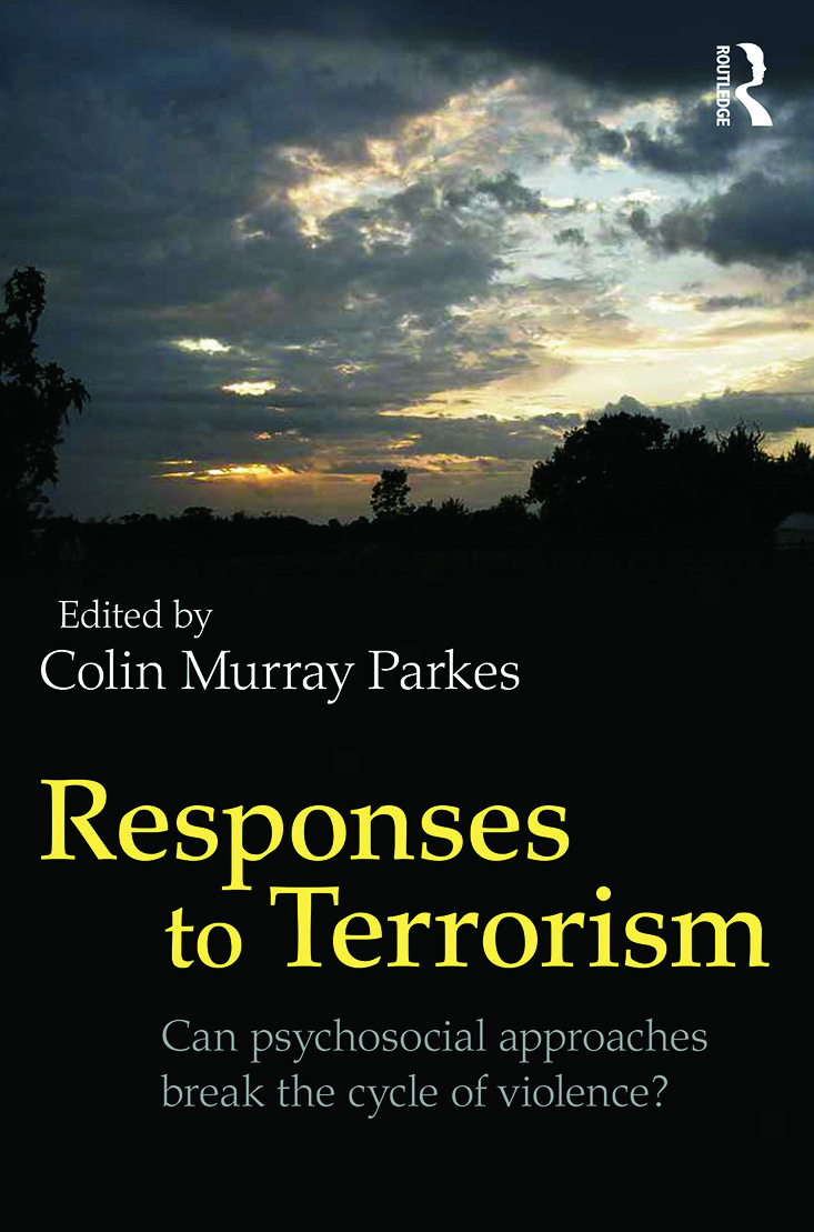 Responses to Terrorism: Can psychosocial approaches break the cycle of violence? (Paperback) book cover