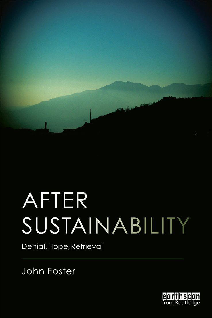 After Sustainability: Denial, Hope, Retrieval (Paperback) book cover