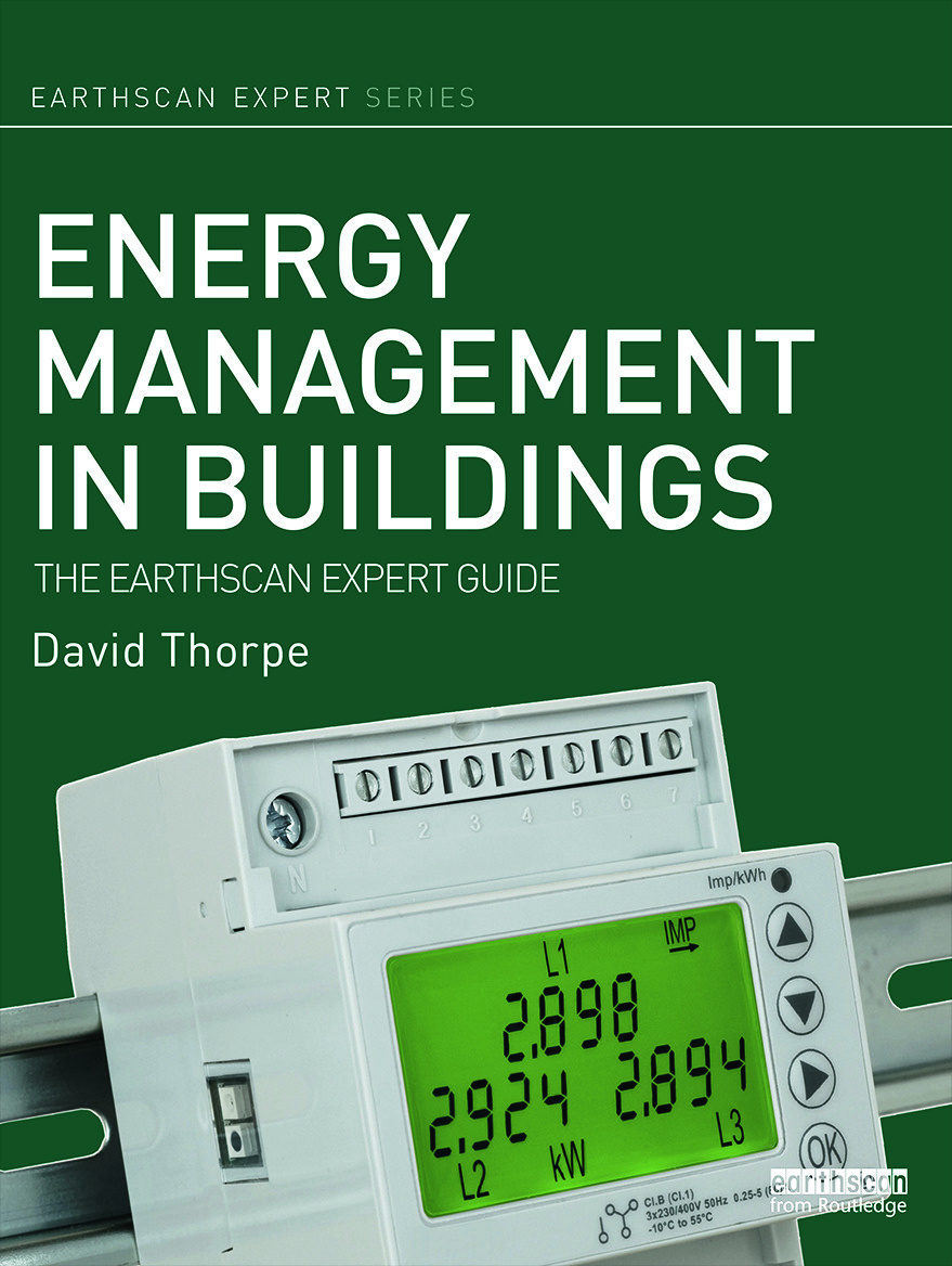 Energy Management in Buildings: The Earthscan Expert Guide book cover