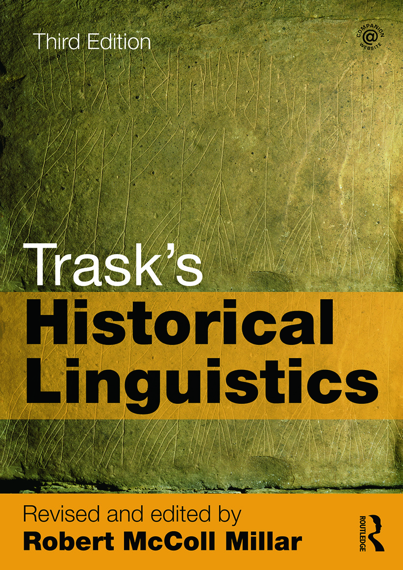 Trask's Historical Linguistics: 3rd Edition (Paperback) book cover