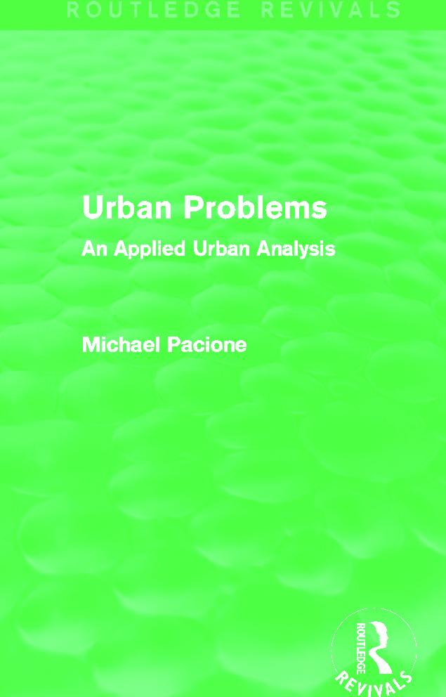 Urban liveability