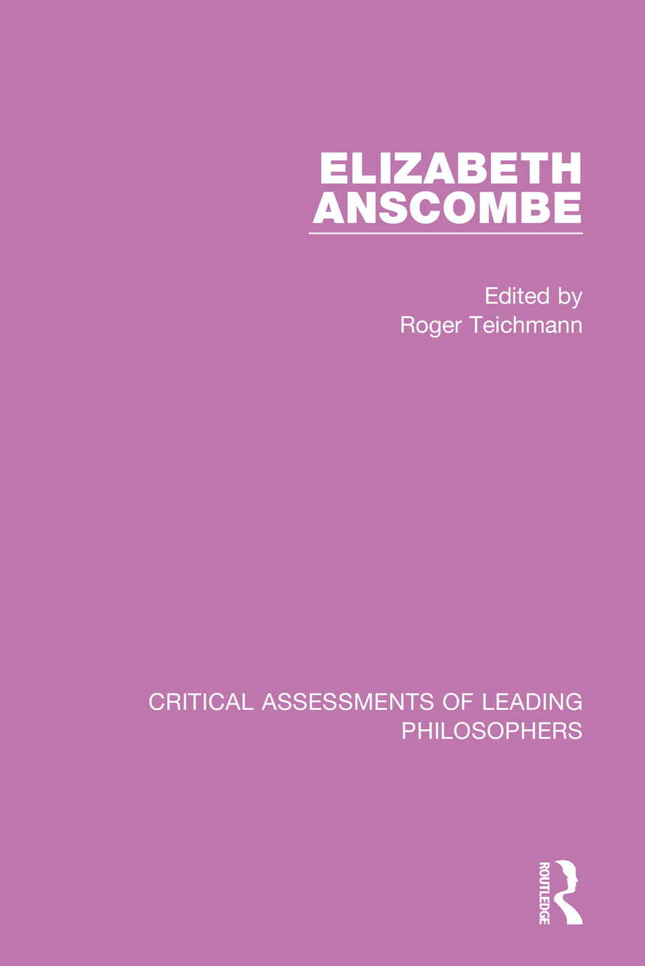 Elizabeth Anscombe, 4-vol. set book cover