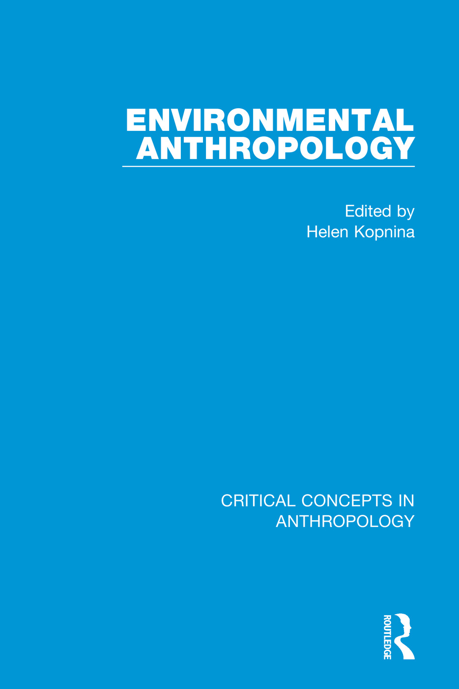 Environmental Anthropology (Hardback) book cover