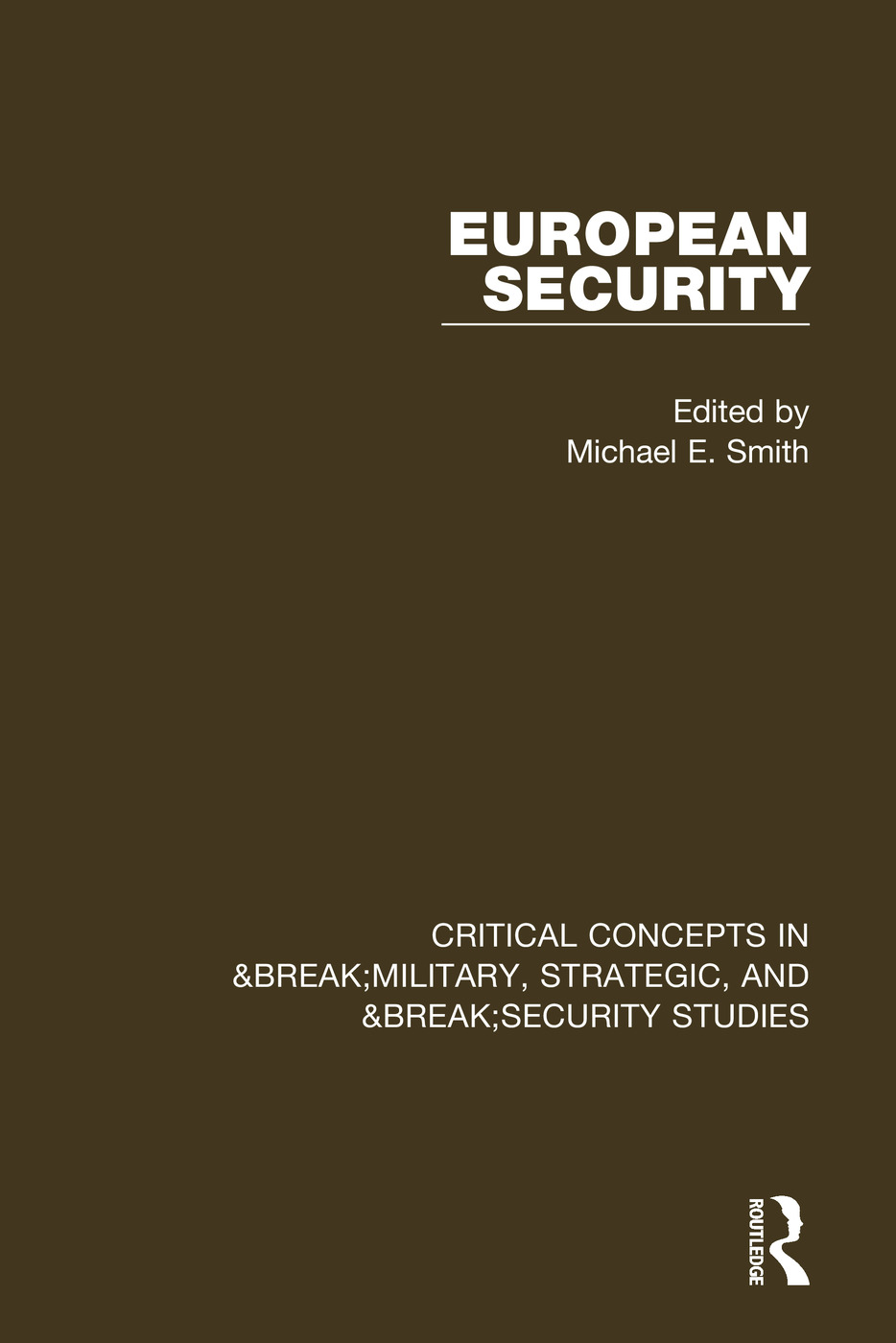 European Security book cover