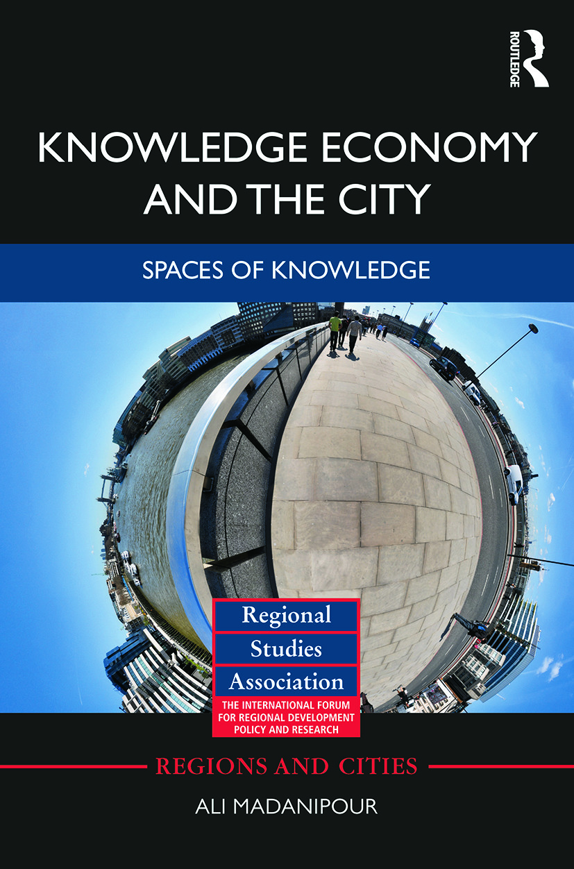 Knowledge Economy and the City: Spaces of knowledge, 1st Edition (Paperback) book cover