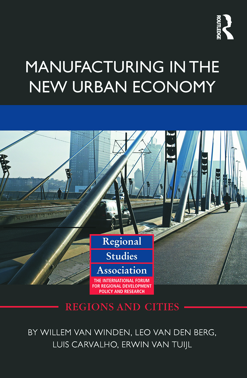 Manufacturing in the New Urban Economy (Paperback) book cover
