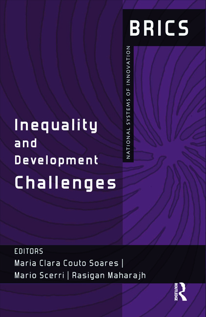 Inequality and Development Challenges: BRICS National Systems of Innovation book cover